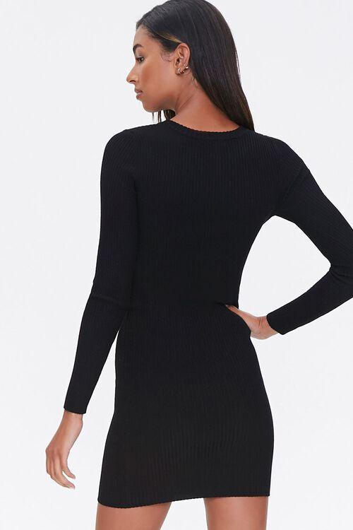 Sweater-Knit Mini Dress, image 3
