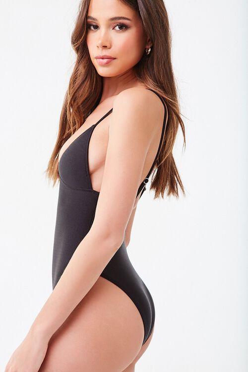 Textured One-Piece Swimsuit, image 2