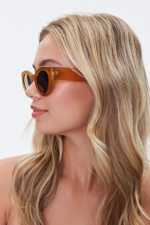 Oval Tinted Sunglasses, image 2