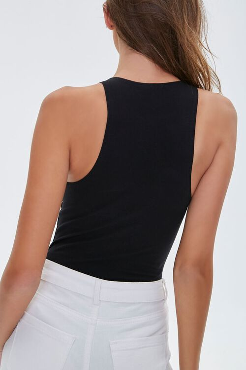 Sleeveless Stretch Bodysuit, image 3