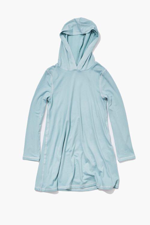 BLUE HAZE Girls Hooded Dress (Kids), image 1