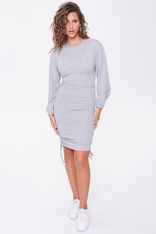 Ruched Mini Dress, image 4