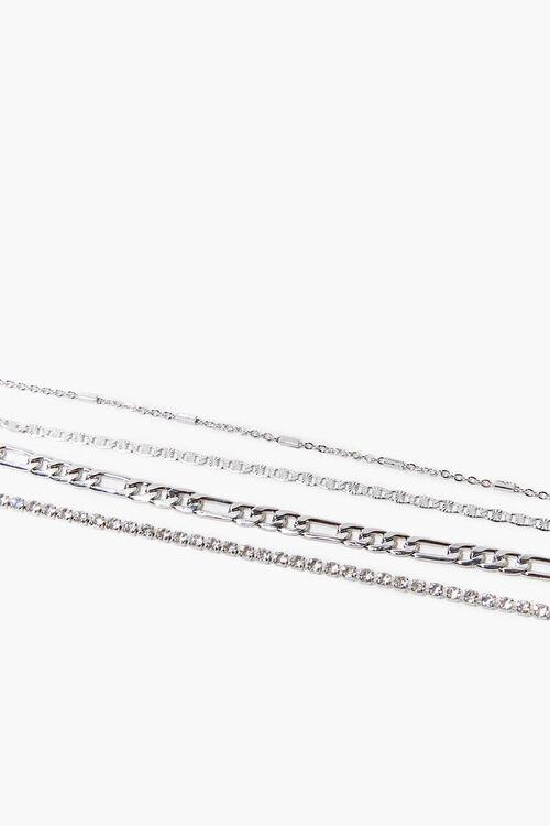 High-Polish Chain Bracelet Set, image 1