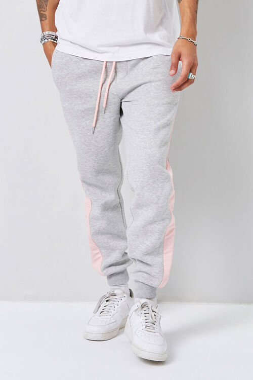 Heathered Colorblock Joggers, image 2