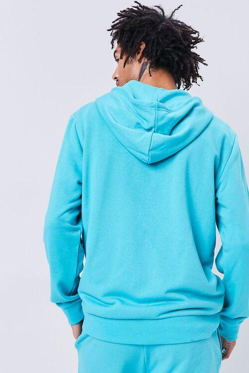Contrast Zip-Up Hoodie, image 3