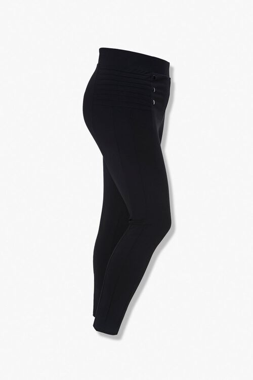 Plus Size Ribbed Leggings, image 2
