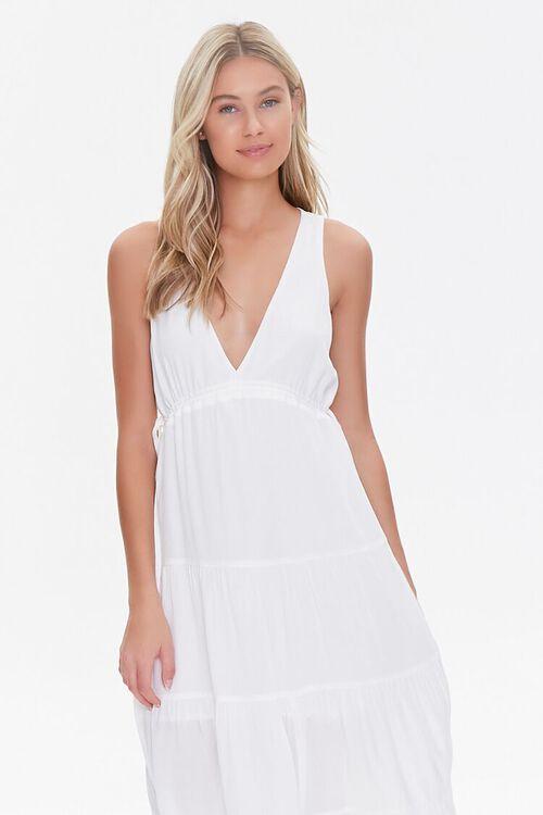Plunging Midi Dress, image 4