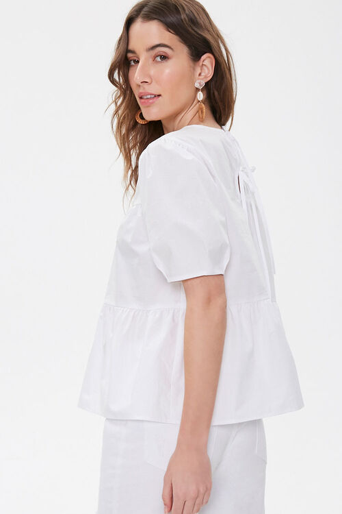 Boxy Tiered Flounce Top, image 2