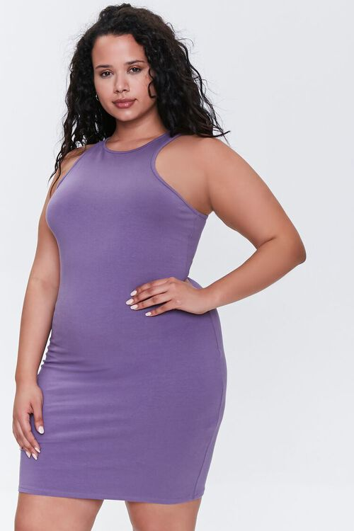 Plus Size Bodycon Tank Dress, image 1