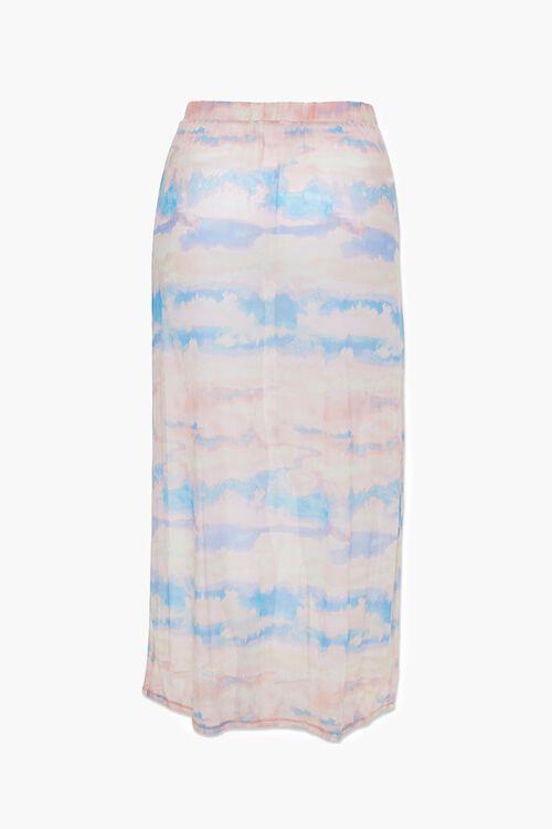 Plus Size Cloud Wash Mesh Skirt, image 3