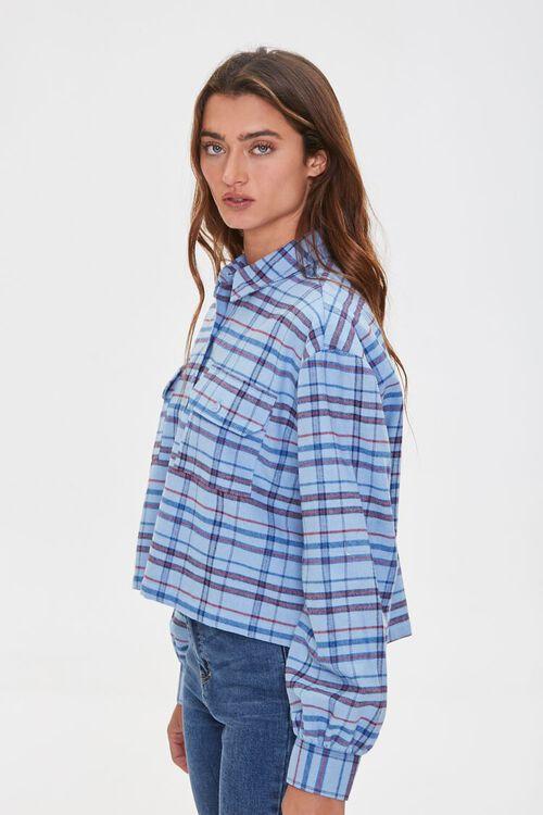 Plaid Drop-Sleeve Shirt, image 2