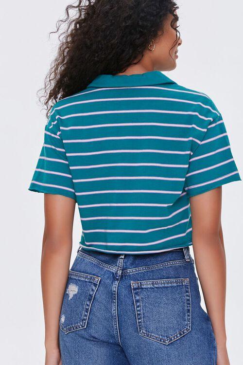 Striped Polo Shirt, image 3