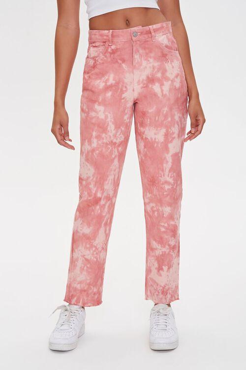 Tie-Dye Ankle Jeans, image 2