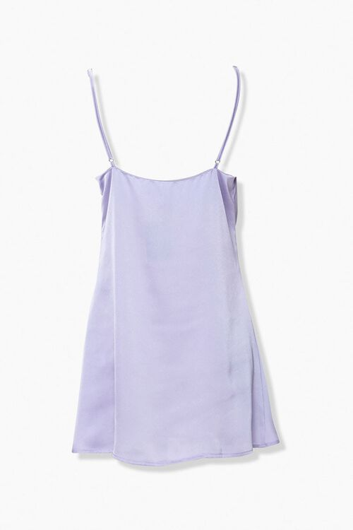 Satin Cowl Neck Slip Dress, image 2