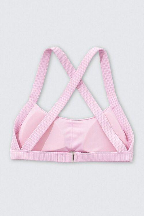 Ribbed Crisscross Bikini Top, image 2