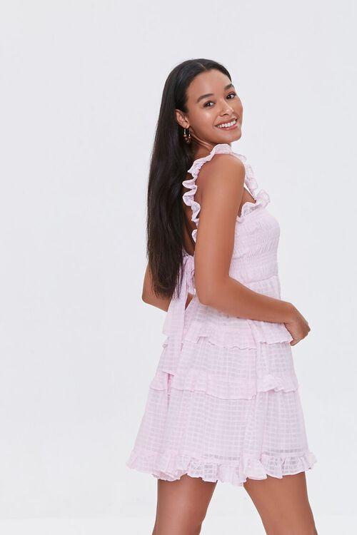 Ruffled Tiered Cutout Dress, image 2