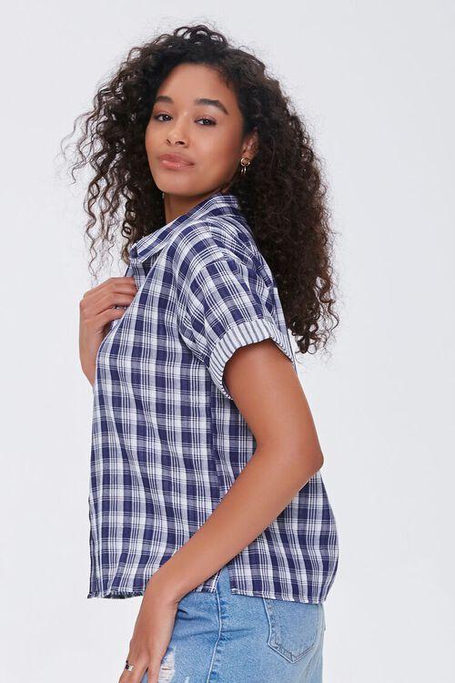Cuffed Plaid Shirt, image 2