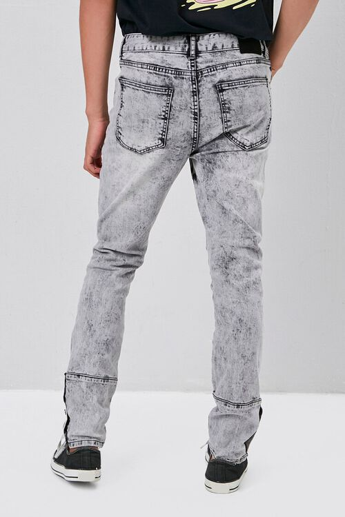 Distressed Snap-Button Jeans, image 4