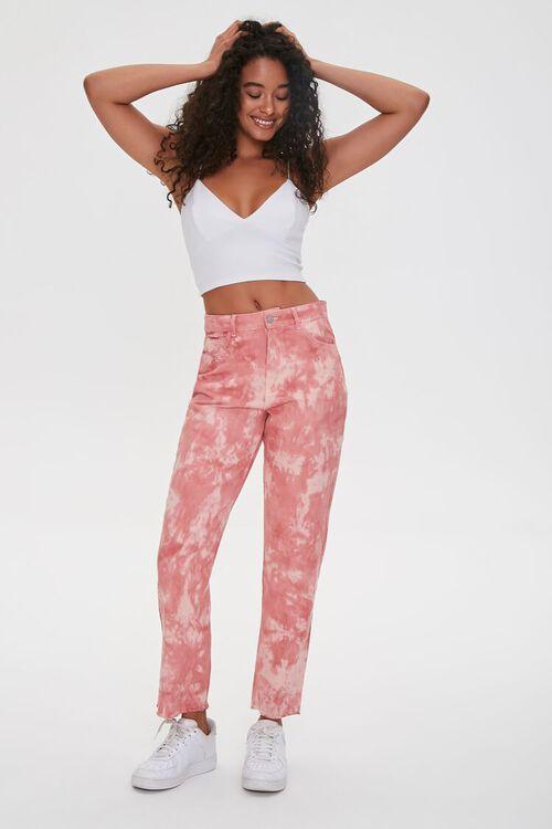 Tie-Dye Ankle Jeans, image 1