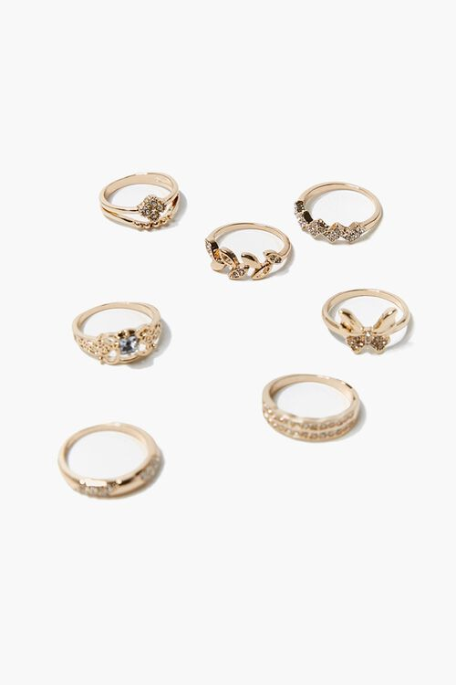 Butterfly Ring Set, image 1