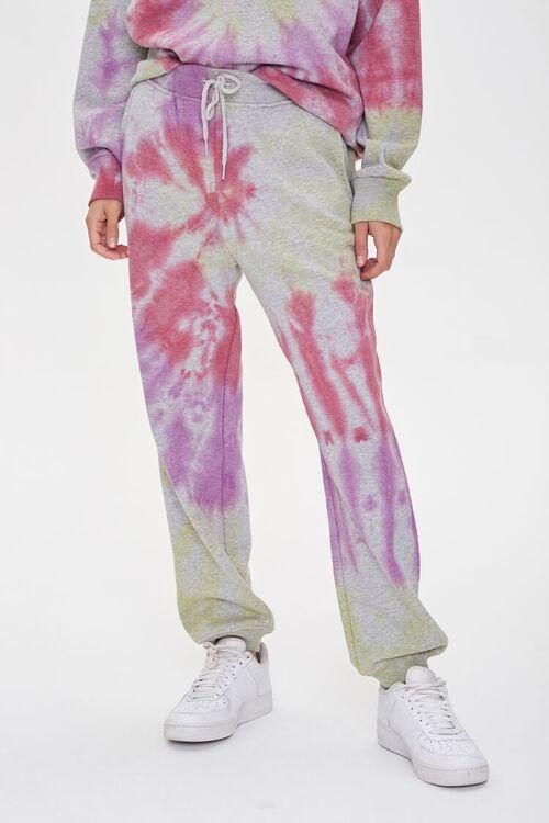 Fleece Tie-Dye Joggers, image 2