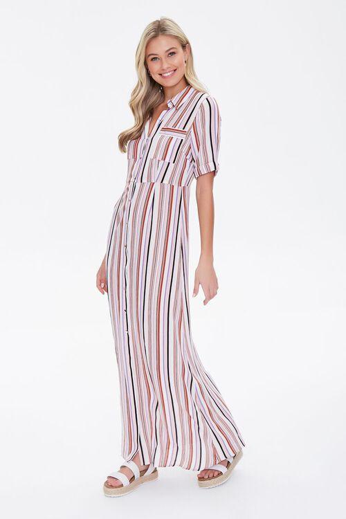 Multicolor Striped Dress, image 1
