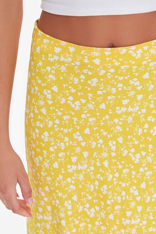 Floral Print Midi Skirt, image 5