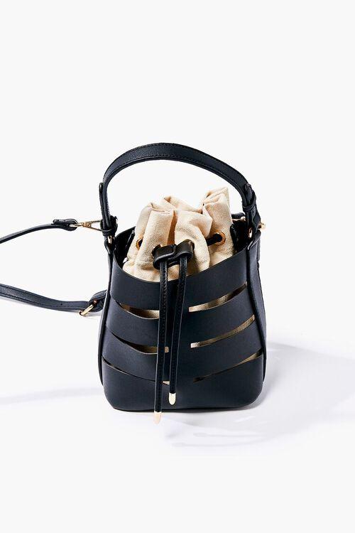 Caged Crossbody Bucket Bag, image 2