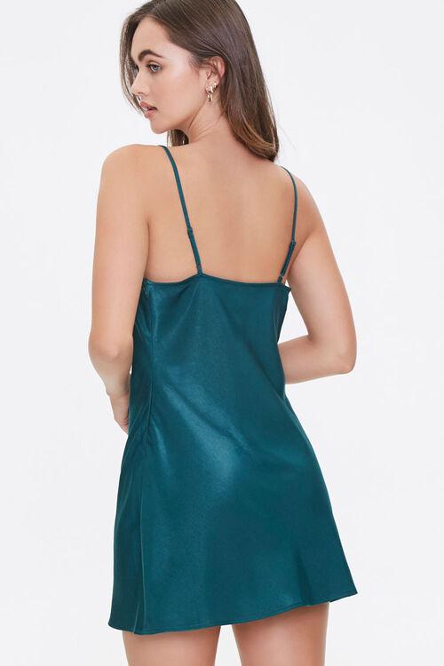 Satin Cowl Neck Slip Dress, image 3