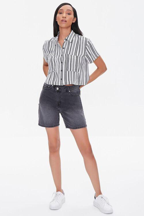 Striped Boxy Pocket Shirt, image 4
