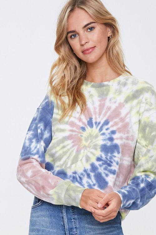 Tie-Dye Wash Sweatshirt, image 1