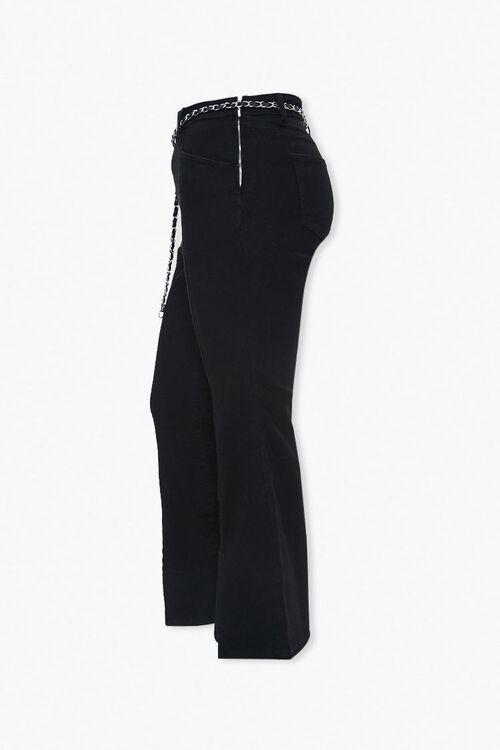 Plus Size Split Flare Jeans, image 2