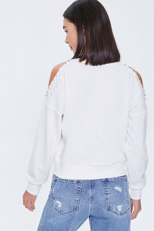 Beaded Open-Shoulder Pullover, image 3