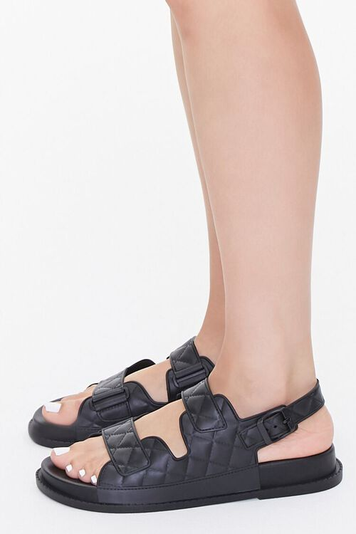 Cutout Flatform Sandals, image 2
