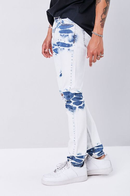 Bleached Slim-Fit Jeans, image 3