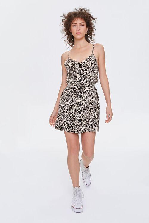 Tie-Back Leopard Print Dress, image 5