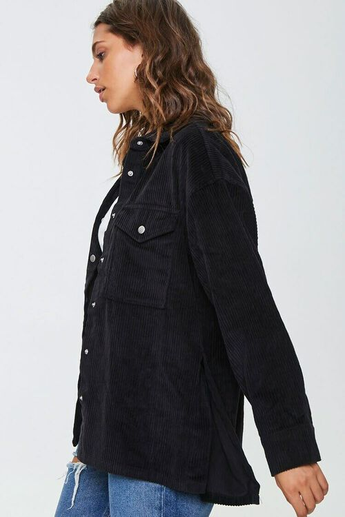 Corduroy Snap-Button Jacket, image 2