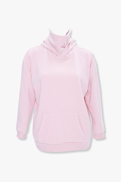 Plus Size Face Mask Hoodie, image 1