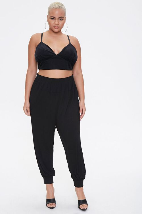 Plus Size Billowy Joggers, image 1