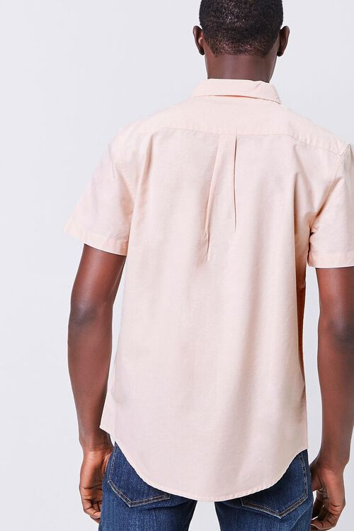 Fitted Embroidered Flower Pocket Shirt, image 4