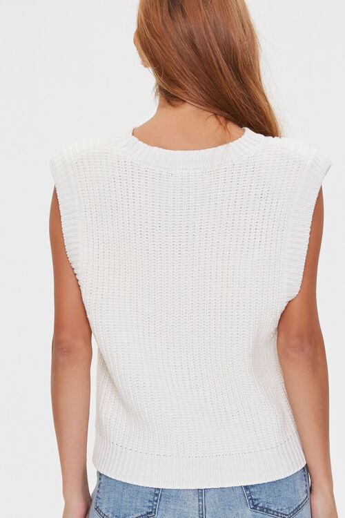 Ribbed Sweater-Knit Vest, image 3