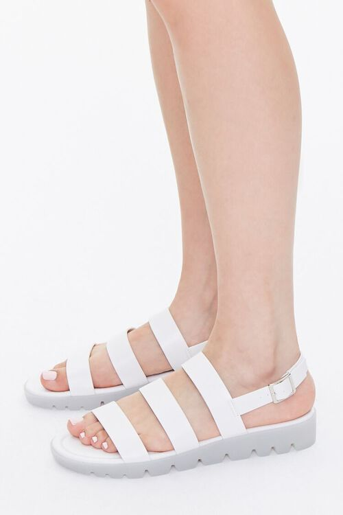 Caged Lug-Sole Sandals, image 2