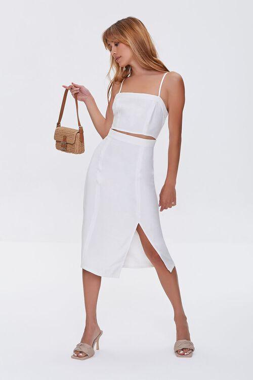 Cutout Side-Slit Midi Dress, image 4
