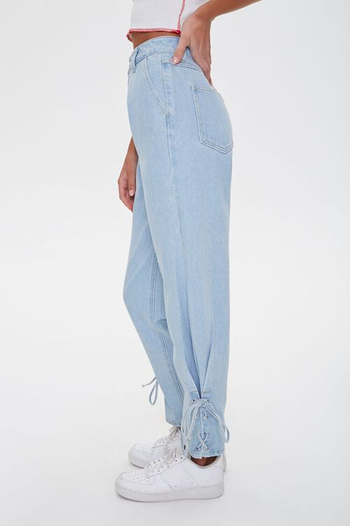 Lace-Up Mom Jeans, image 2