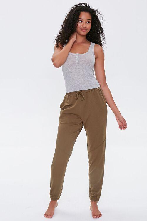 Heathered Pajama Tank Top, image 4
