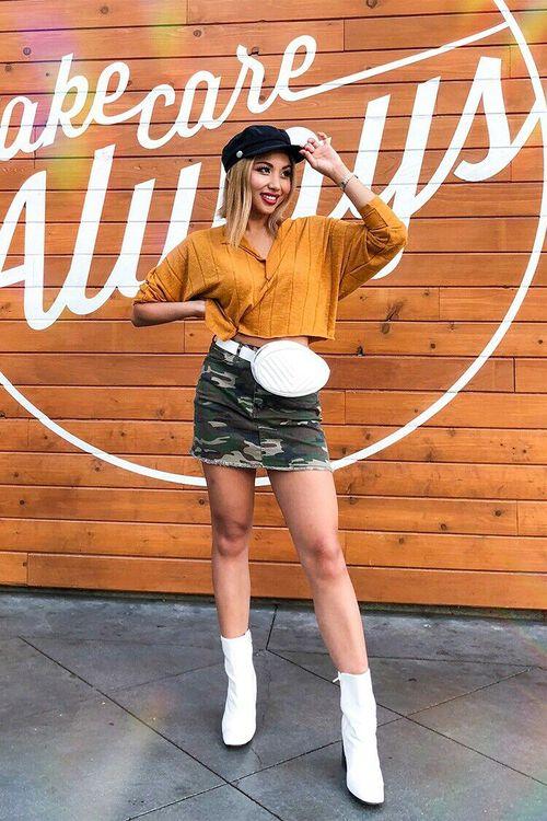 Camo Mini Skirt, image 5
