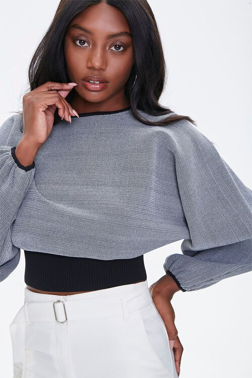 Balloon-Sleeve Sweater, image 1