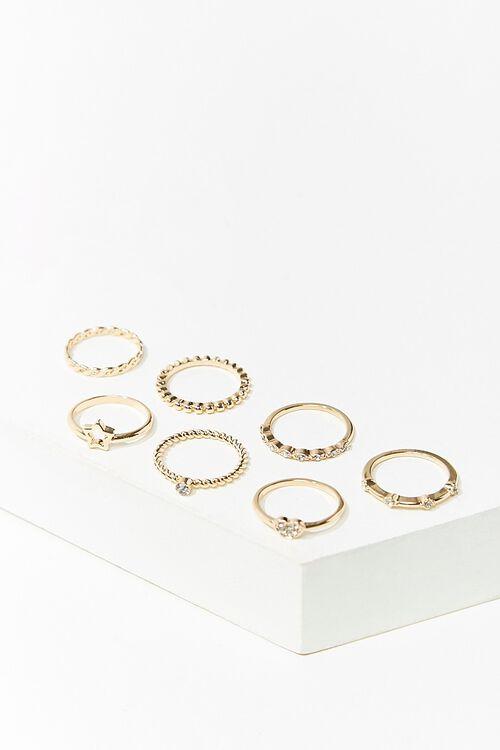 Midi & Regular Ring Set, image 2