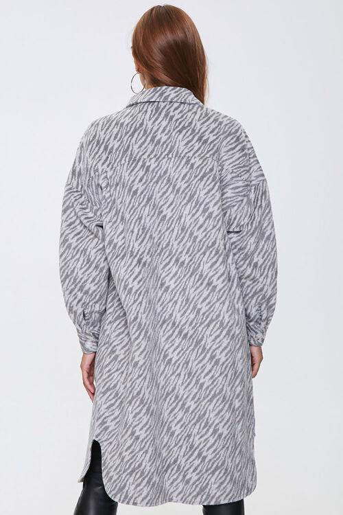 Tiger Print Longline Coat, image 3