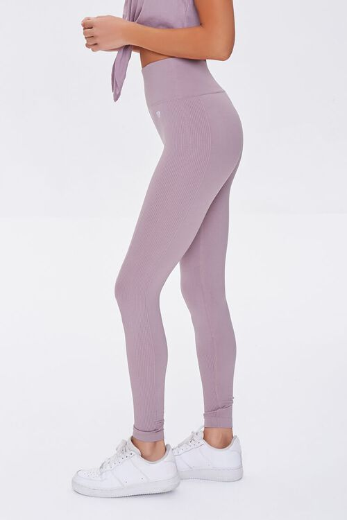 DUSTY LAVENDER Active Seamless High-Rise Leggings, image 3
